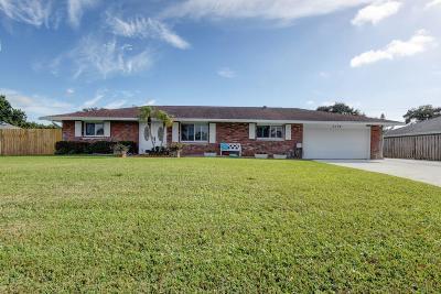 Lake Worth Single Family Home Contingent: 3174 Pebble Beach Drive