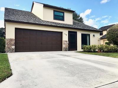 Palm Beach Gardens Single Family Home For Sale: 114 Beaumont Lane