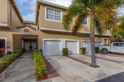Tequesta Townhouse For Sale: 115 Lighthouse Circle #G