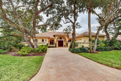 Hobe Sound Single Family Home For Sale: 8135 SE Windjammer Way