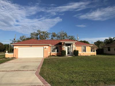 Port Saint Lucie Single Family Home For Sale: 2874 SE Rawlings Road