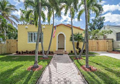 West Palm Beach Single Family Home For Sale: 600 Ardmore Road