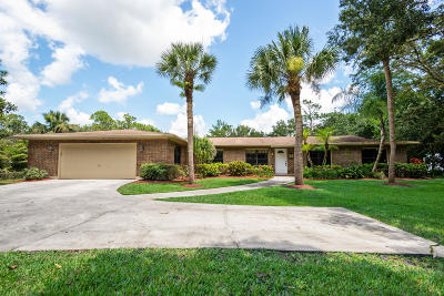 Jupiter Single Family Home For Sale: 11295 175th Road