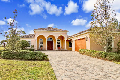 Palm City Single Family Home Contingent: 10544 SW Whooping Crane Way