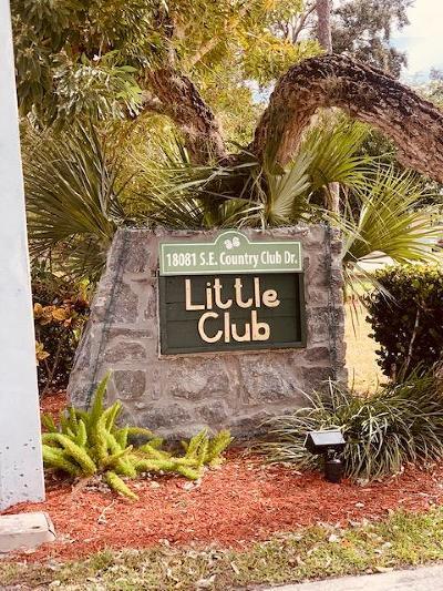 Tequesta Condo For Sale: 18081 SE Country Club Drive #Bldg 1 U