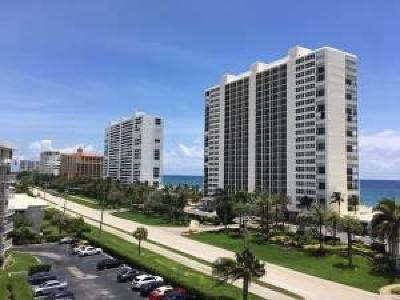 Boca Raton Condo For Sale: 2851 S Ocean Boulevard #6 R
