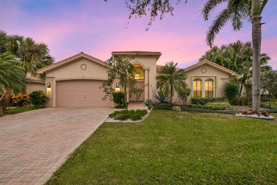 Boynton Beach Single Family Home For Sale: 7441 Lahana Circle