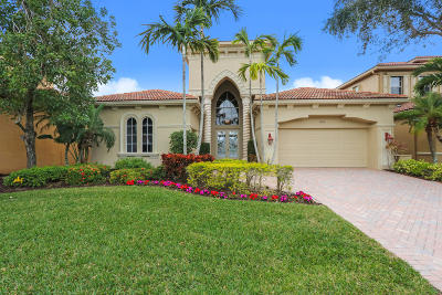 West Palm Beach Single Family Home For Sale: 7063 Tradition Cove Lane W