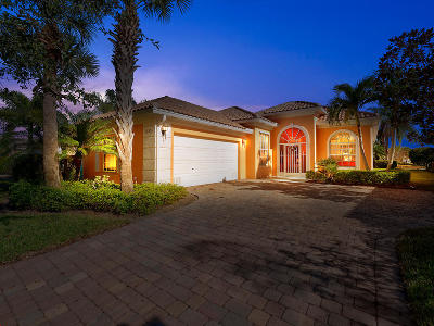 Port Saint Lucie Single Family Home For Sale: 12332 SW Keating Drive