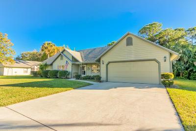 Jensen Beach Single Family Home For Sale: 886 NE Dahoon Terrace NE