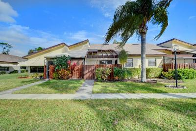 delray beach Single Family Home Contingent: 5061 Nesting Way #B