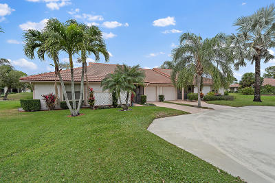 Palm Beach Gardens Single Family Home For Sale: 13257 Touchstone Place