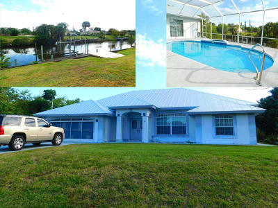 Port Saint Lucie FL Single Family Home Sold: $345,000