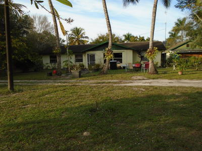 Loxahatchee Single Family Home For Sale: 14405 Tangerine Drive