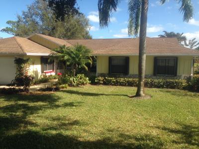Hobe Sound Single Family Home For Sale: 13199 SE Spyglass Court