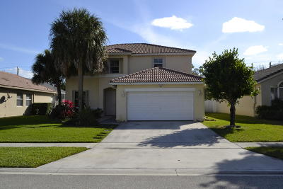 Greenacres Single Family Home For Sale: 6552 Spring Meadow Drive