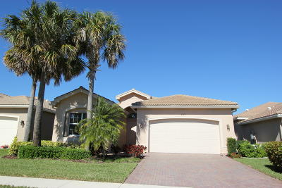 Boynton Beach Single Family Home For Sale: 9579 Hunterston Drive