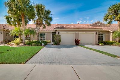 Boynton Beach Single Family Home For Sale: 8429 Logia Circle