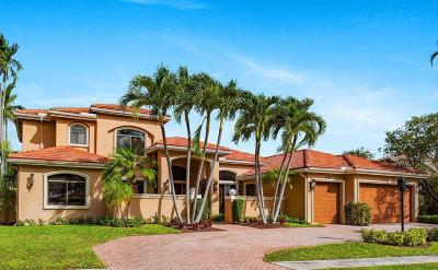 Boca Raton Single Family Home For Sale: 7291 Valencia Drive