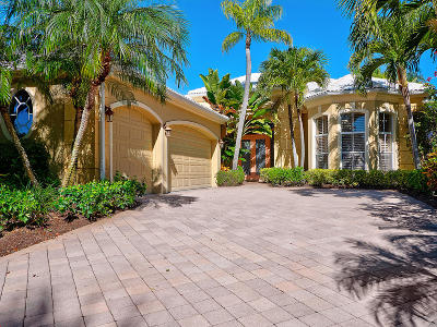 Palm Beach Gardens Single Family Home For Sale: 1136 Crystal Drive