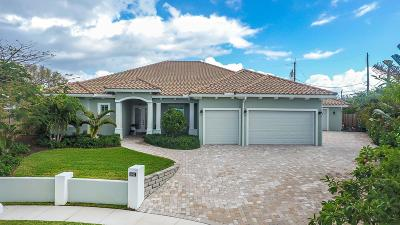 Juno Beach Single Family Home For Sale: 1660 Isles Circle