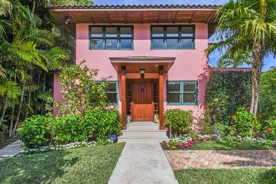 Palm Beach Single Family Home For Sale: 215 Seminole Avenue