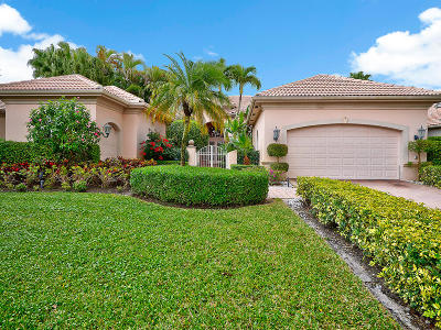 Palm Beach Gardens Single Family Home For Sale: 149 Vintage Isle Lane