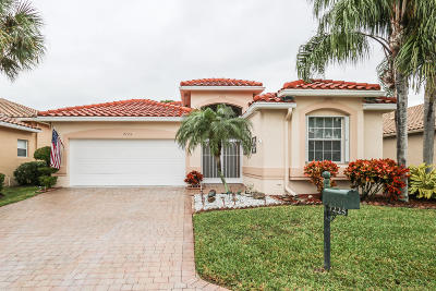 Boynton Beach Single Family Home For Sale: 7225 Catania Drive