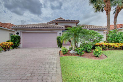Boynton Beach Single Family Home For Sale: 7168 Lombardy Street