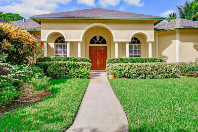 Jupiter Single Family Home For Sale: 6373 Fox Run Circle