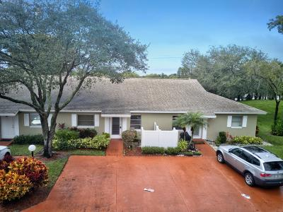 Boca Raton Single Family Home For Sale: 18711 Candlewick Drive #18711-C
