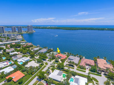 North Palm Beach Single Family Home For Sale: 848 Lakeside Drive