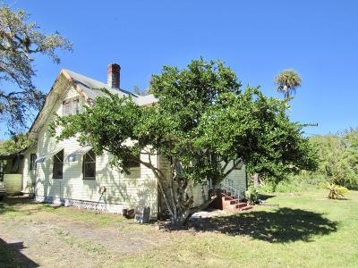 Fort Pierce Single Family Home For Sale: 4395 Eleven Mile Road