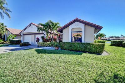 Boynton Beach Single Family Home For Sale: 8176 Waterline Drive