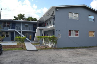 Lake Worth Multi Family Home For Sale: 927 S Pine Street