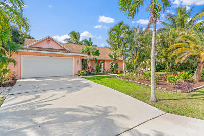Hobe Sound Single Family Home Contingent: 9208 SE Gettysburg Court