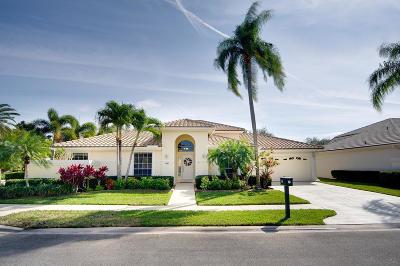 Palm Beach Gardens Single Family Home For Sale: 115 Eagleton Lane