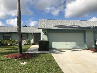 Boca Raton Single Family Home For Sale: 23329 SW 61st Avenue #B