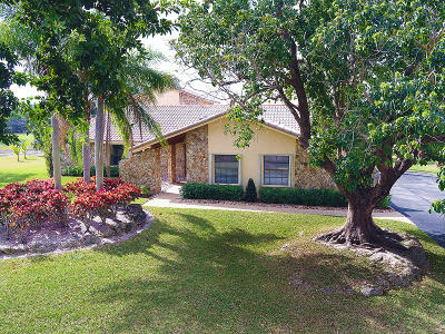 Boca Raton Single Family Home For Sale: 21621 Reflection Lane