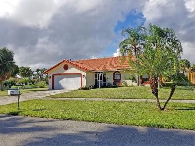 Boca Raton Single Family Home For Sale: 8201 Ranger Trail