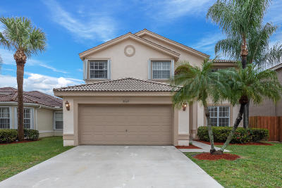 Boynton Beach Single Family Home For Sale: 3527 Chesapeake Circle