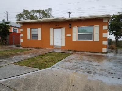 Riviera Beach FL Rental For Rent: $1,500