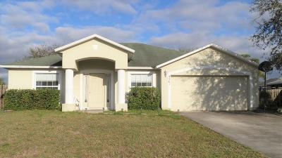 Port Saint Lucie FL Single Family Home Sold: $190,000
