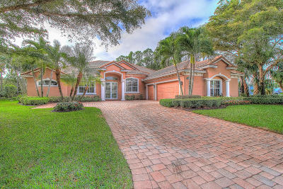 Hobe Sound Single Family Home For Sale: 7861 SE Double Tree Drive
