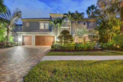 Delray Beach Single Family Home For Sale: 6678 Grande Orchid Way