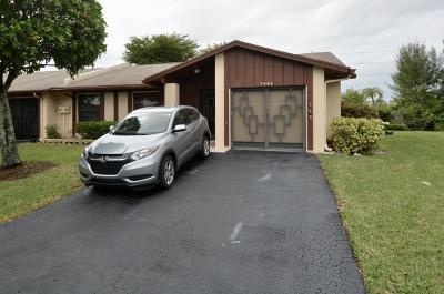 Delray Beach Single Family Home For Sale: 5444 Viburnum Circle
