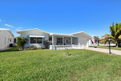 Leisureville, Palm Beach Leisureville Single Family Home For Sale: 123 NW 10 Court