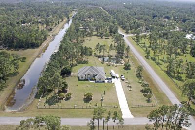 Lake Worth Single Family Home For Sale: 11356 Ira Lane