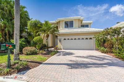 Boca Raton Single Family Home For Sale: 5840 Bridleway Circle