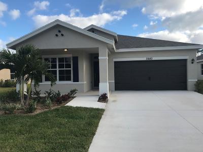 Stuart Single Family Home For Sale: 3880 SE Lee Street